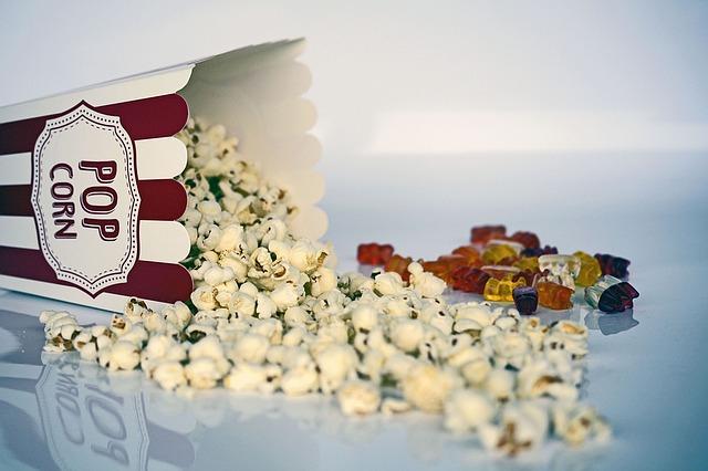 popcorn a méďové