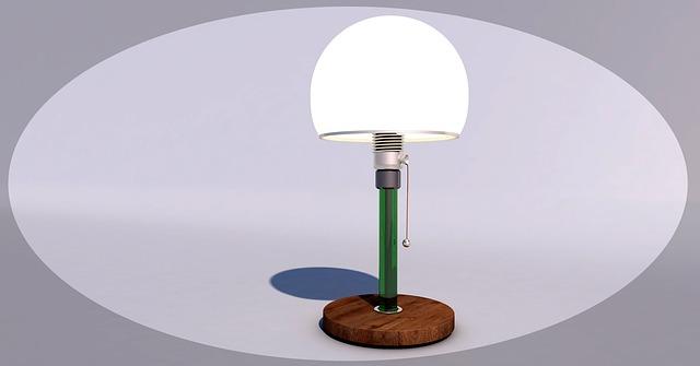 designová lampa