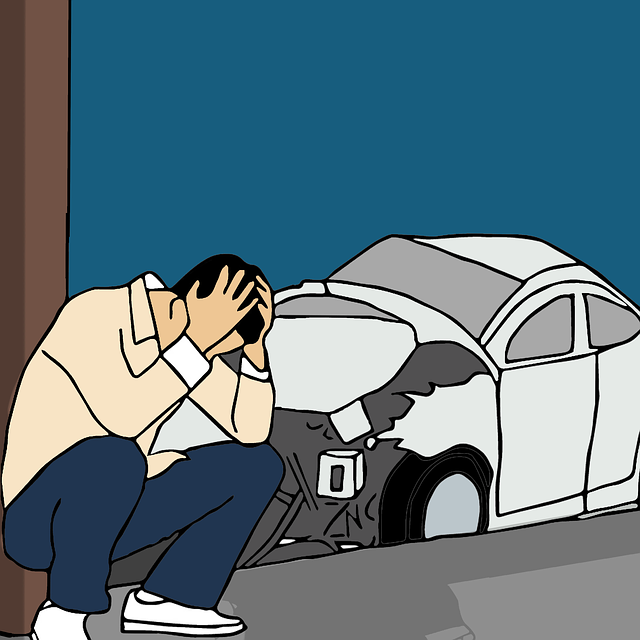 Muž a auto